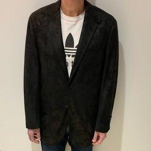 Mantoni Italy Design Suede Jacket